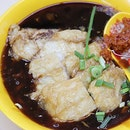 Trying the famous lor mee from Taman Jurong in Yew Tee branch, bcoz it's nearer to our area.