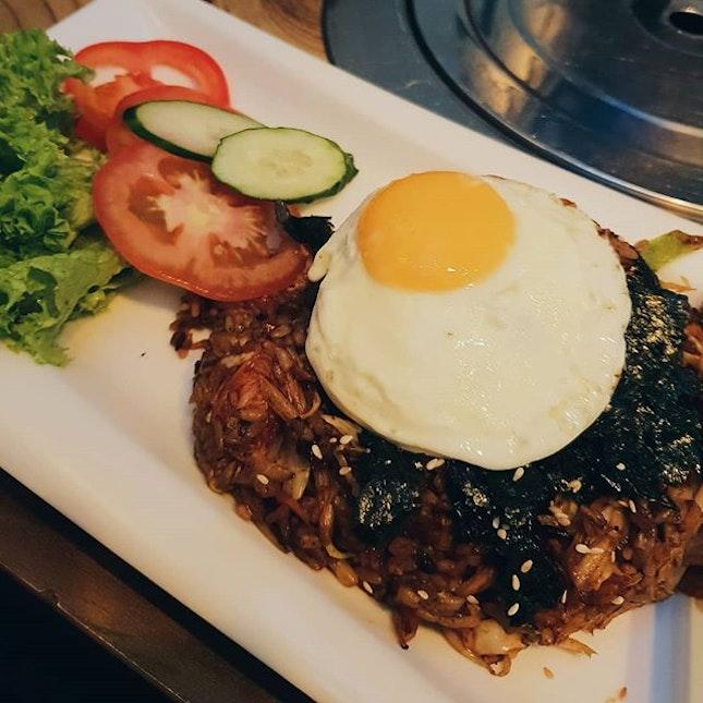 first Korean Vegetarian Restaurant we went to!!