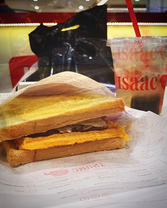 Tried Isaac Toast yesterday for the first time at Paradigm Mall.