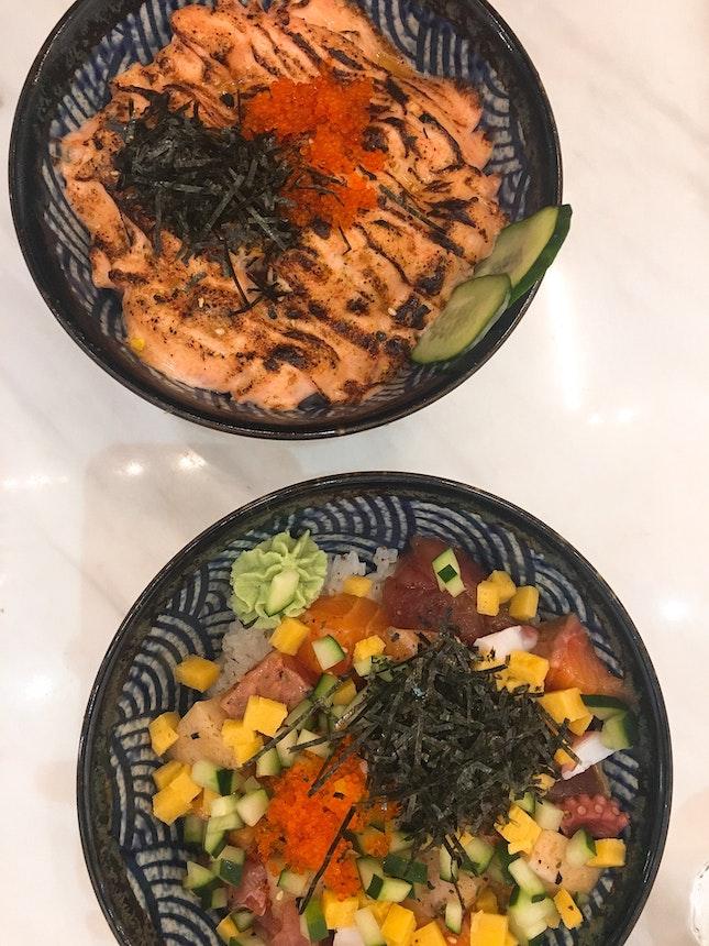 Chirashi & Mentaiko Salmon Don