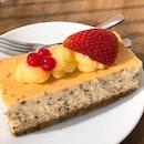 Earl Grey Cheesecake ($7.80)