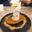 Softserve Waffle (RM$19)