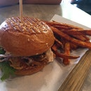 Pulled Pork Burger ($13.90)