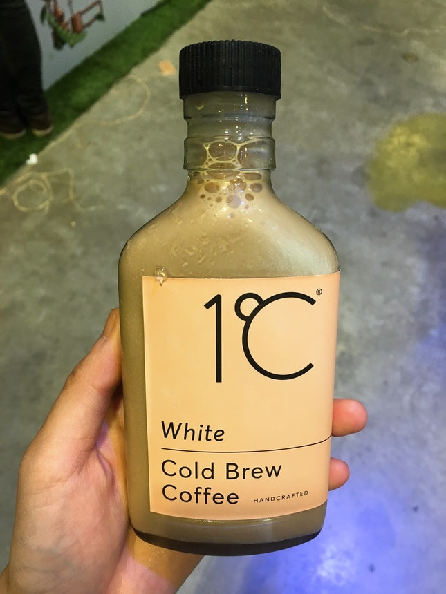 White Cold Brew Coffee ($6)