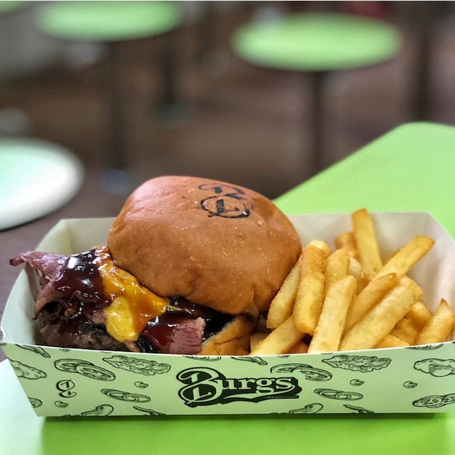 👉Burgs' Bacon & Cheese Burger👈
