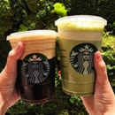 👉Dark Caramel Cold Foam Nitro && Nitro Green Tea Latte👈