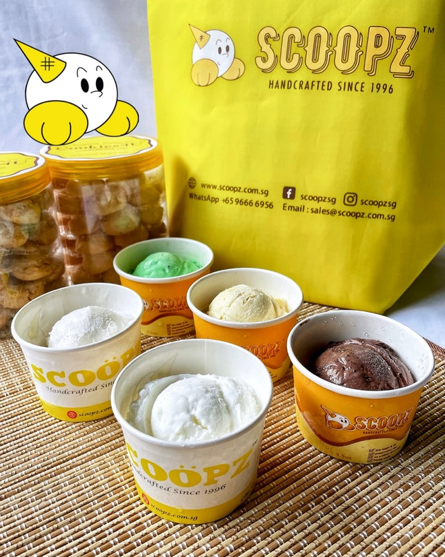 FIRST LOCAL🇸🇬 HANDCRAFTED ICE CREAM BRAND SINCE 1996