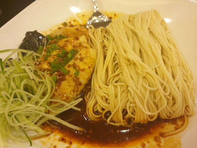 La Mian With Spiced Chicken