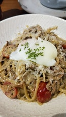 Pulled Pork Carbonara