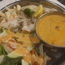 Pan Fried Fish With Tom Yum Sauce