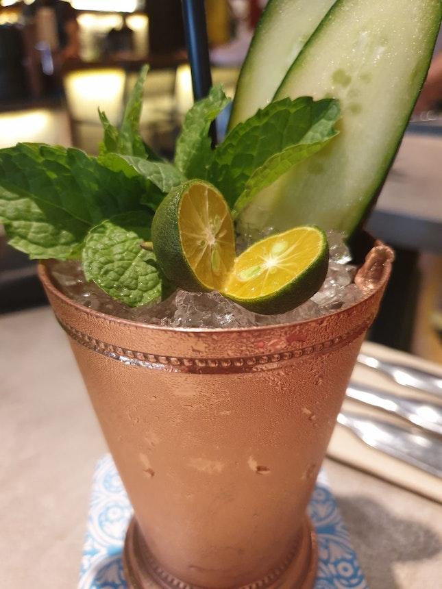 Cucumber And Calalansi Cocktail