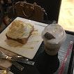 Coffee cube & honey toast