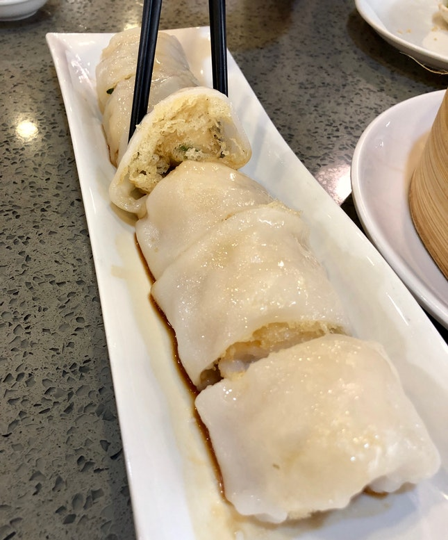 Teahouse Signature Rice Rolls ($8.50)