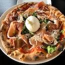 Prosciutto Burrata Pizza ($36)