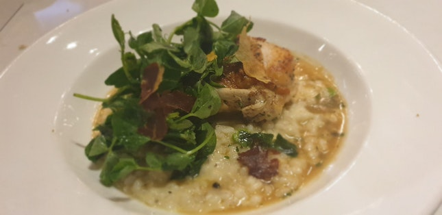 Chicken Breast With Risotto $30