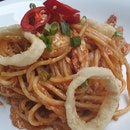 Seafood Mee Goreng $25
