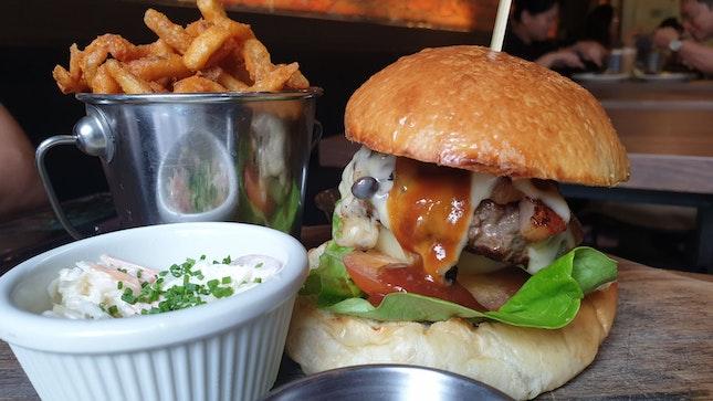 Cheese Burger $30