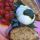 Burrata Pesto $22