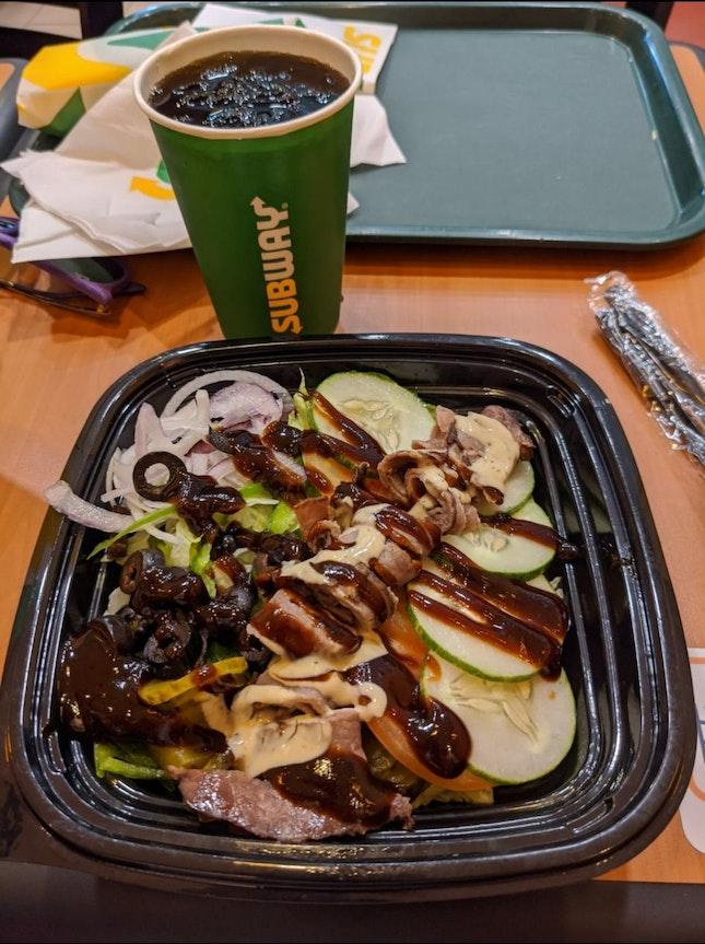 Roast Beef Salad $9.20