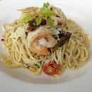 Seafood Anglo olio $42