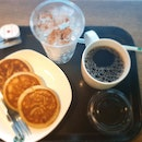 Pancake set with coffee $7