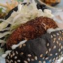 Beef burger set $25