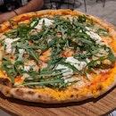 Burrata Pizza Vegetarian $30