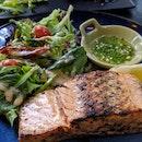 Salmon Steak $20+