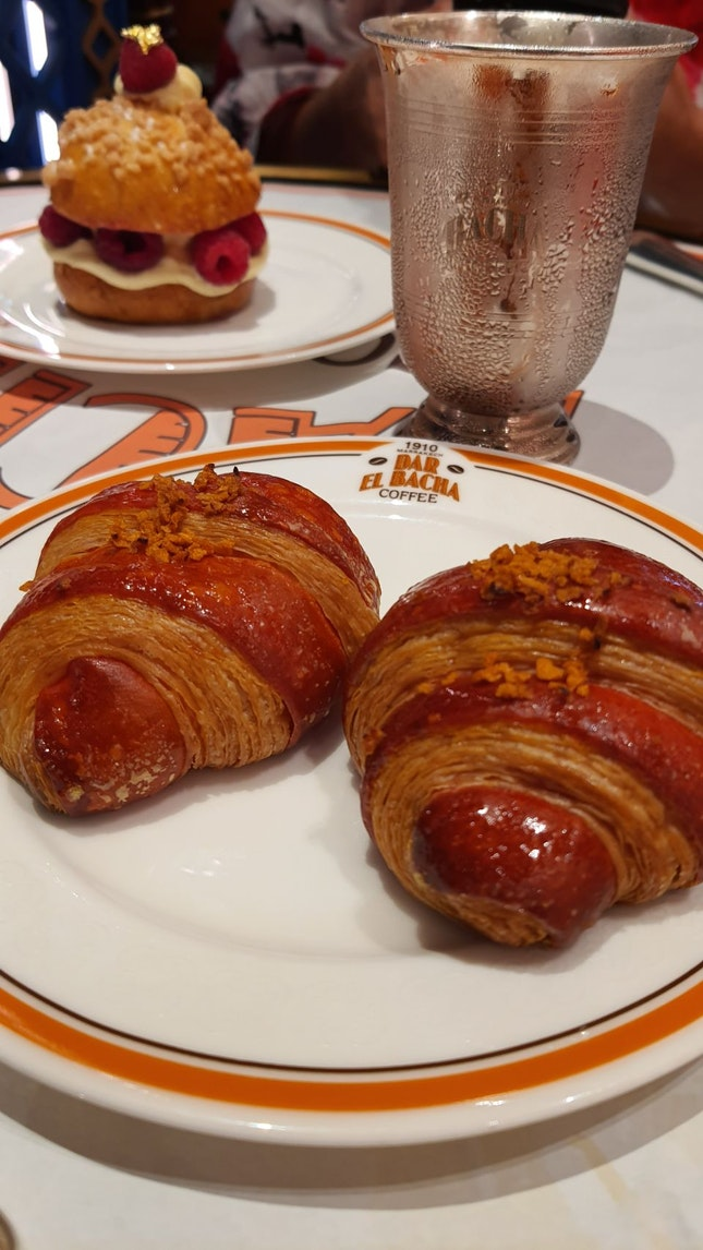 Almond Croissant Orange Filled $8++