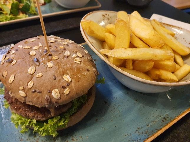 Burger meal - $21++