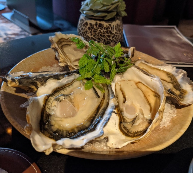 Seasonal Oysters 6 For $28++