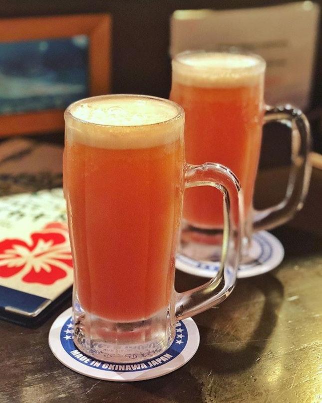Pink guava beer, anyone?🍻