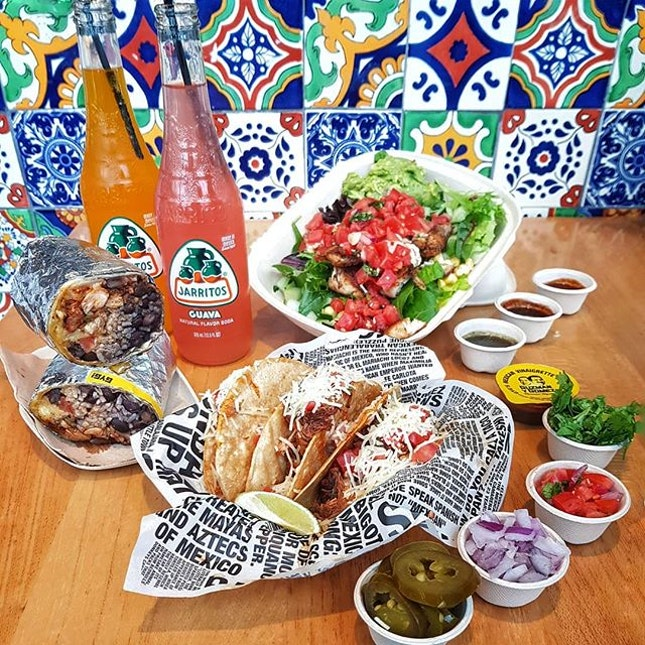 Fancy being a Mexicano at @guzmanygomezsg for a lunch break?