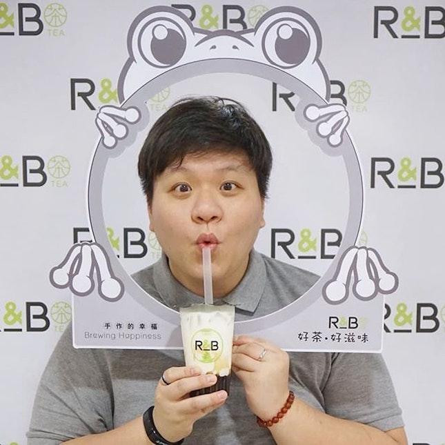 R&B Tea Singapore 好茶●好滋味 * First Launch this menu on Thursday 1st Feb 2018!