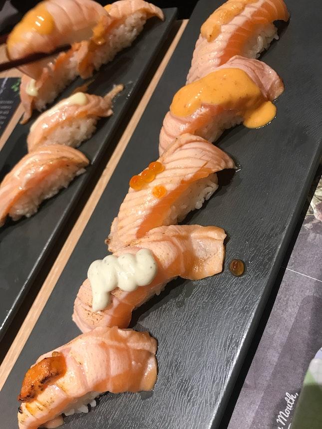 Favourite Aburi Salmon Belly