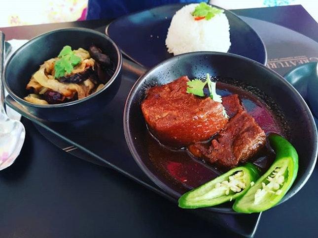 #creatures #peranakanfood #sgfood #sgcafe #pork #burrple  Urban Baba Babi Pongteh  Part 3 of my Birthday Food Hunt!