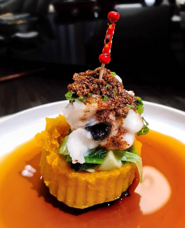 Steamed Eel with Pumpkin