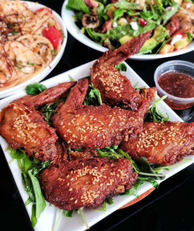 Sesame Chicken Wing