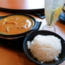Curry Chicken Rice Lunch Set