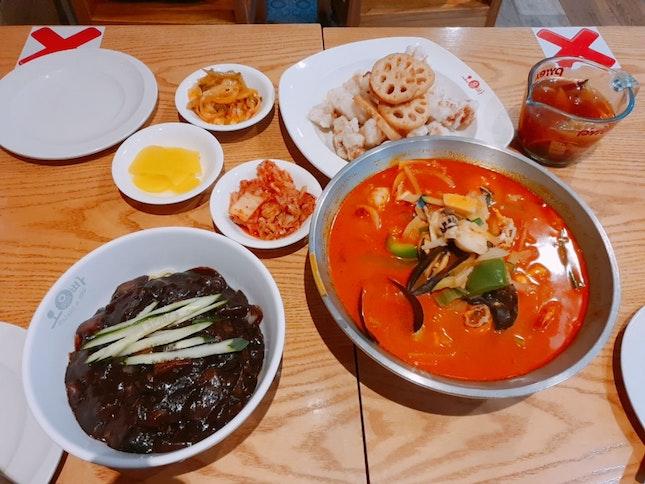Set A - Jjajangmyeon, Jjamppong, Tangsuyuk ($50++)