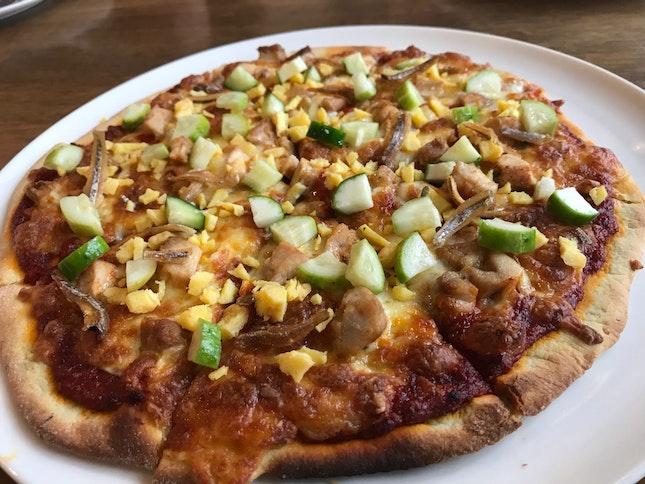 Unique Flavored Pizzas!