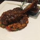 Sous Vide Lamb Shank on Mushroom Risotto (RM58)