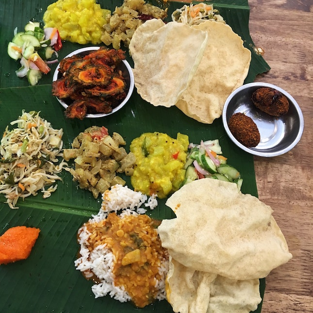 Banana Leaf Rice (From RM8.50)