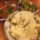 Garlic Naan (RM6), Aloo Gobi (RM14) & Chicken 65 Masala (RM22)