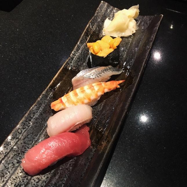 5-piece Sushi Set (RM85)