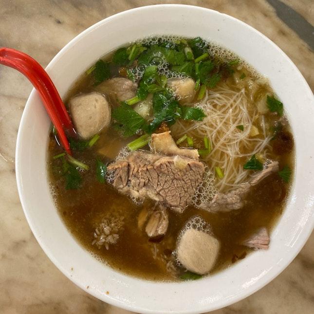 Beef Noodles (RM10)