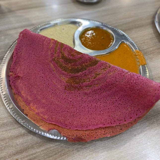 Beetroot Thosai (RM5)