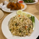 Fried Rice With Pork (RM9)