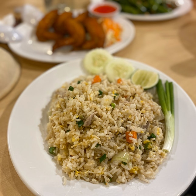 Fried Rice With Pork (RM9)