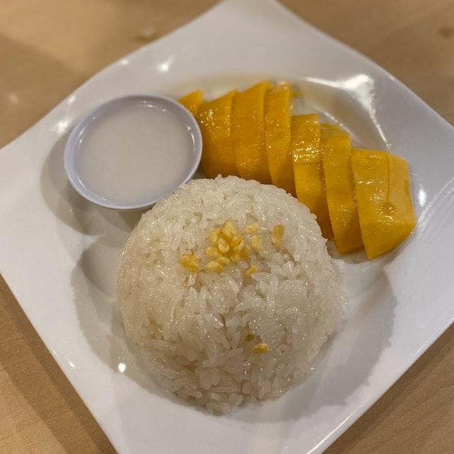 Thai Mango Sticky Rice (RM9)
